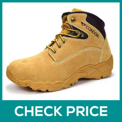 CONDOR Idaho Men's 6 Steel Toe Work Boot Review