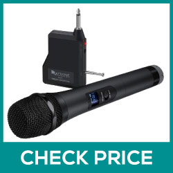 FIFINE Handheld Dynamic Microphone Wireless Mic Review