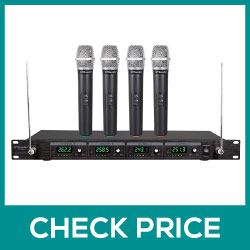 GTD Audio G-380H VHF Wireless Microphone System Review